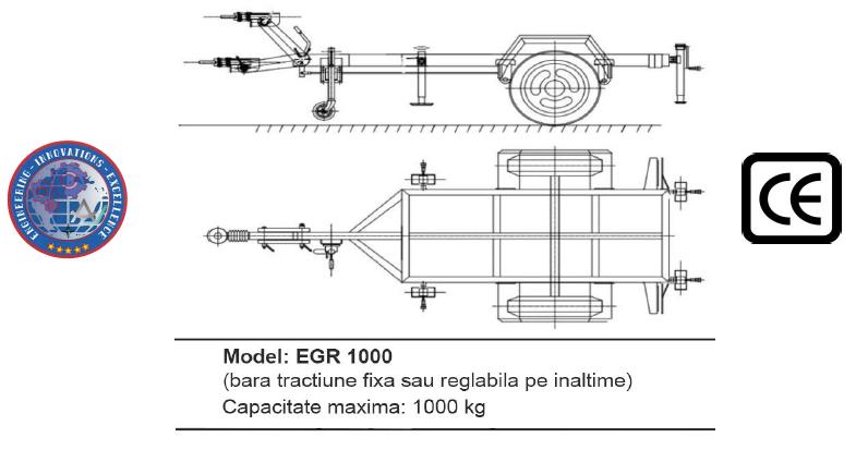 Remorca EGR 1000