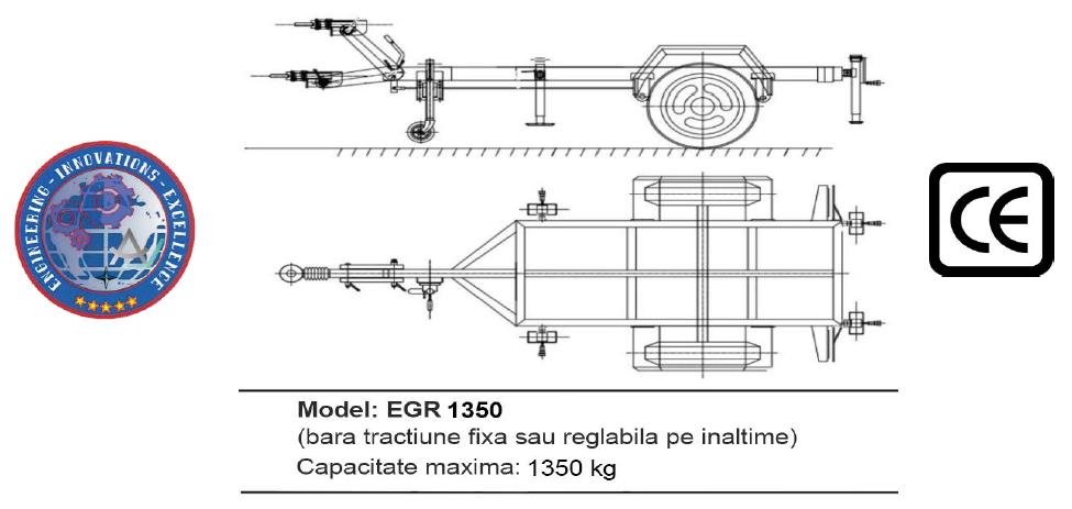 Remorca EGR 1350