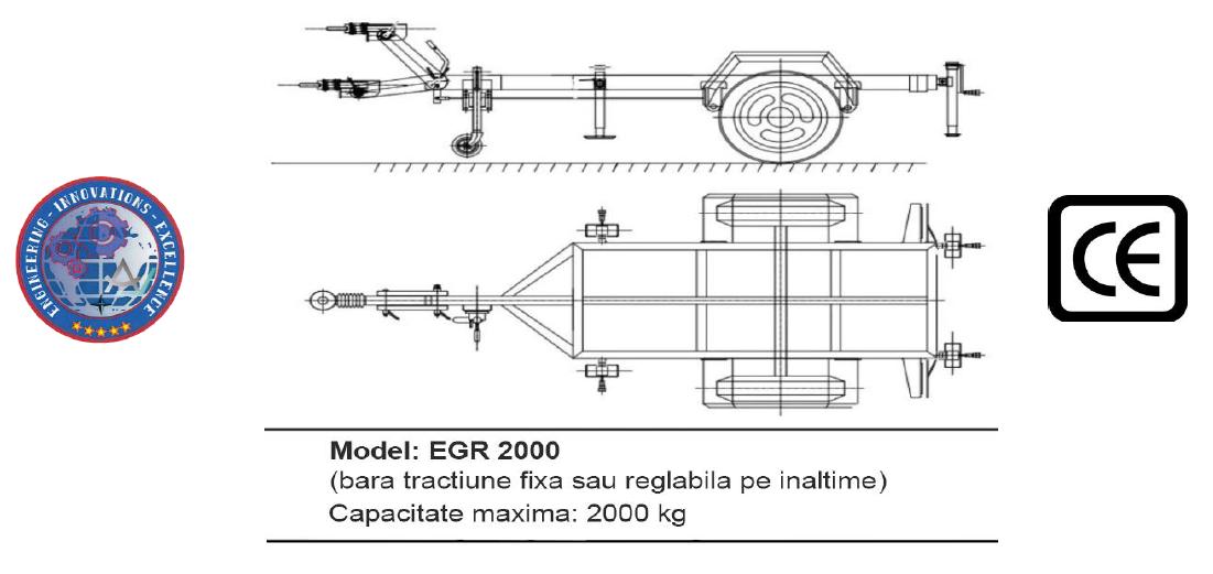 Remorca EGR 2000