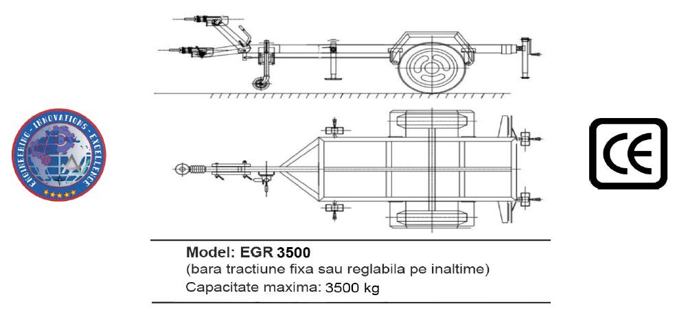 Remorca EGR 3500