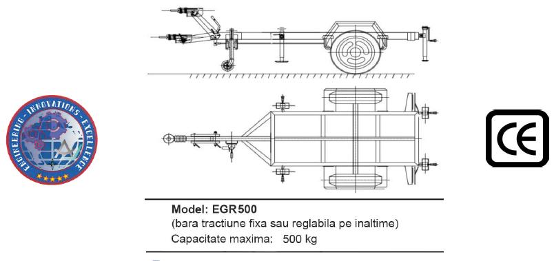 Remorca EGR 500