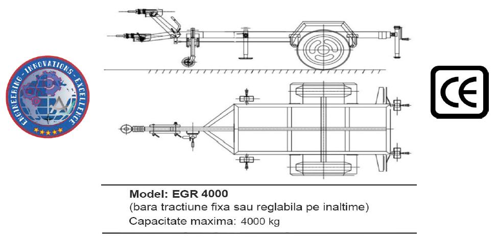 Remorca EGR 4000