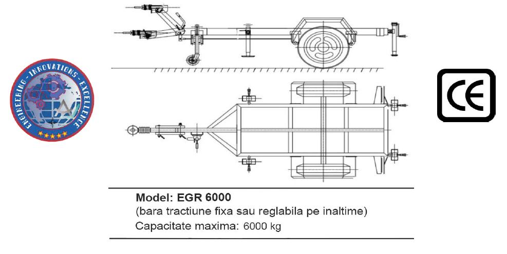 Remorca EGR 6000